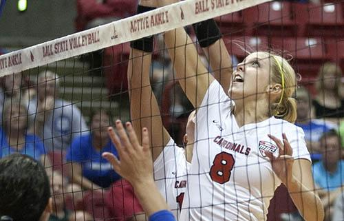 WOMEN'S VOLLEYBALL: Weekend sweep provides momentum for Ball State