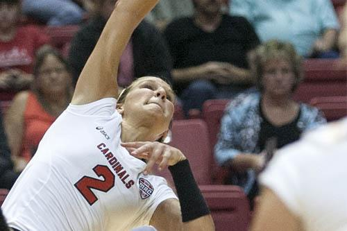 WOMEN'S VOLLEYBALL:  Ball State prepares for IUPUI