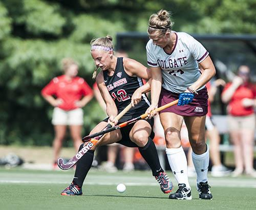 FIELD HOCKEY: Ball State scores late, seals 2-1 victory over Colgate