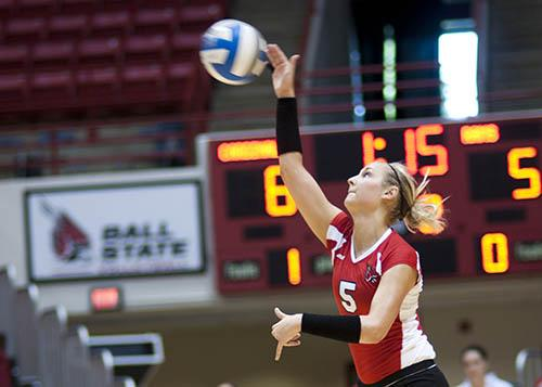 VOLLEYBALL: Fatigue hurts Ball State against South Florida