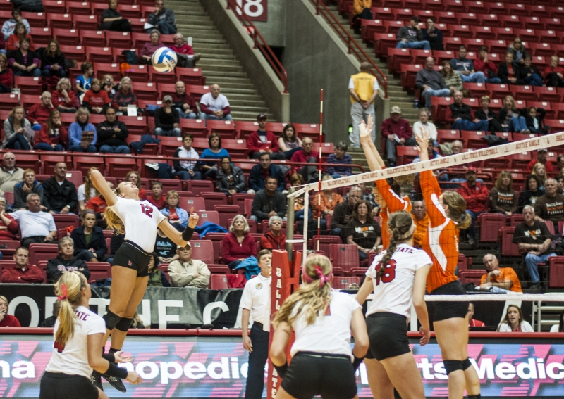 WOMEN'S VOLLEYBALL: Injuries force position change