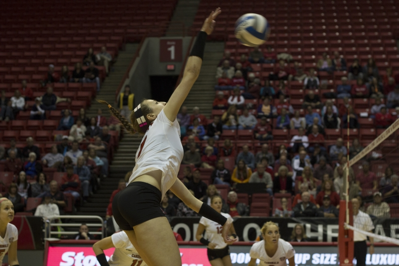 WOMEN'S VOLLEYBALL: Grant could win MAC for first time since transferring