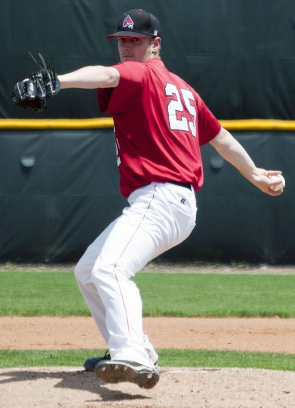 BASEBALL: Ball State allows four runs in ninth in loss
