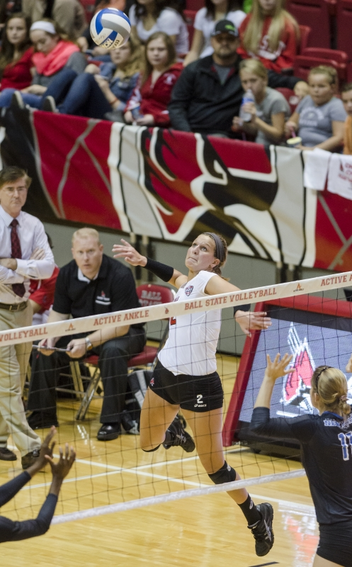 WOMEN'S VOLLEYBALL: Ball State's keys all season fall flat in loss
