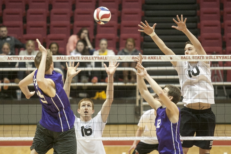 MEN'S VOLLEYBALL: Ball State opens season against defending national champion
