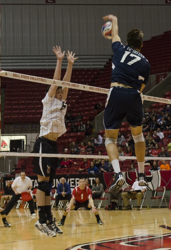MEN'S VOLLEYBALL: Freshman starts career against defending champions