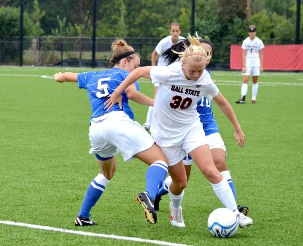 SOCCER: Coach wanting better efficiency on offense against Eastern Michigan