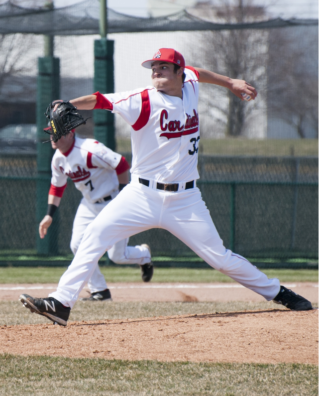 BASEBALL: Team uses 6-run 3rd inning to down Indiana Wesleyan in rout