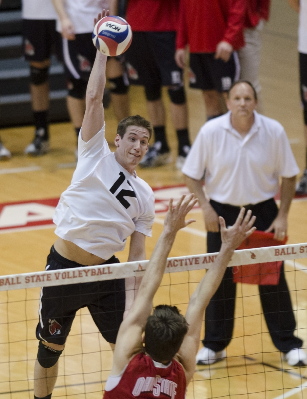 MEN'S VOLLEYBALL: Ball State improves to 2-0 with win over Barton