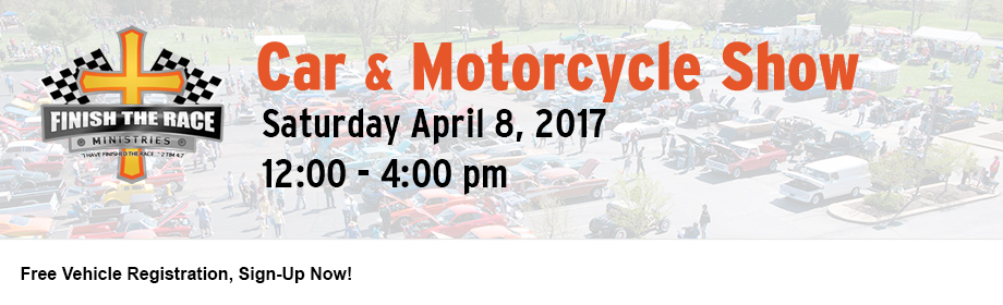 2017 Finish the Race Spring Car & Motorcycle Show