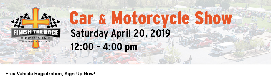 2019 Finish the Race Spring Car & Motorcycle Show