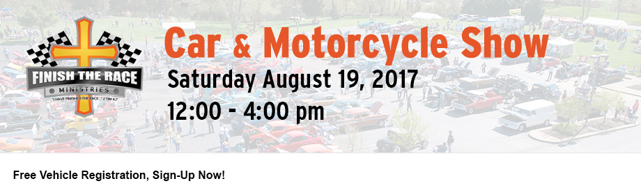 2017 Finish The Race Summer Car & Motorcycle Show
