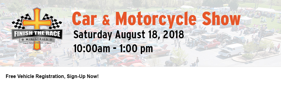 2018 Finish the Race Summer Car & Motorcycle Show