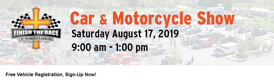 2019 Finish the Race Summer Car & Motorcycle Show