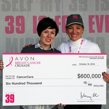 Display photo for CancerCare Receives $600,000 to Continue Support of Low-Income Breast Cancer Patients