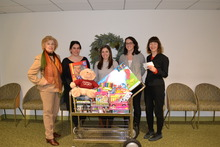 Display photo for The Phi Beta Kappa Association of New York Holiday Toy Drive Collects Donated Gifts for Children and Teens Affected by Cancer
