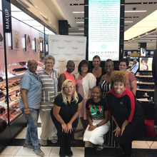 Display photo for Sephora Hosts CancerCare Clients for Brave Beauty Class for Confidence to Support Women Living With Cancer
