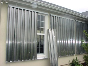Hurricane Storm Panels Types Of Hurricane Shutters