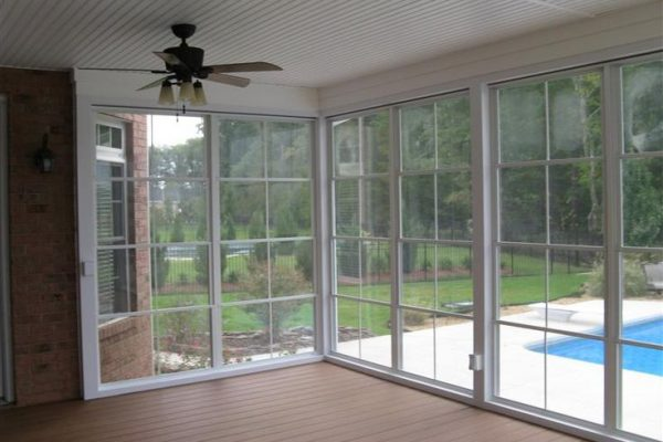 sliding acrylic windows sunrooms surfside beach sc