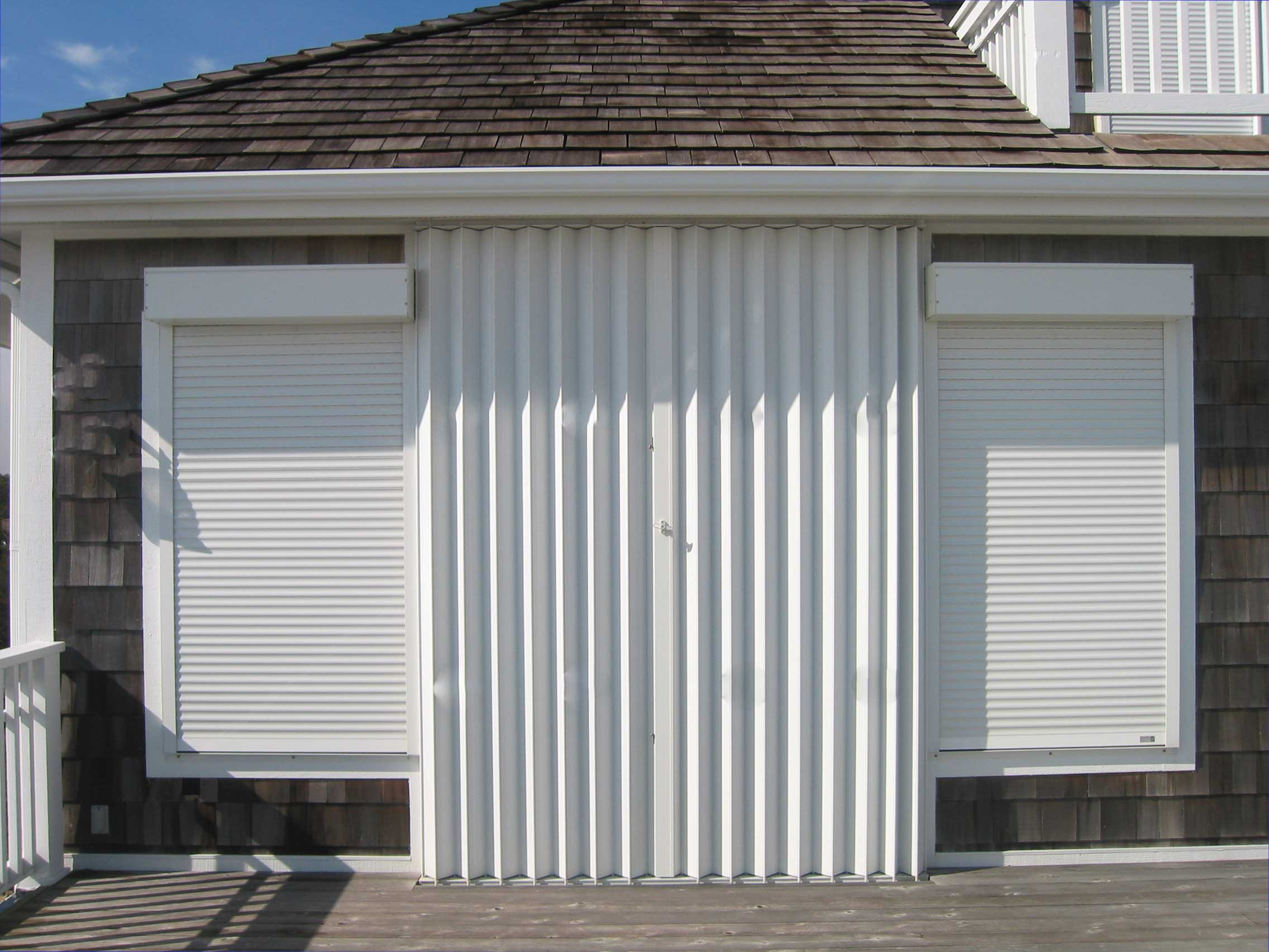Accordion Hurricane Shutters Myrtle Beach Types Of
