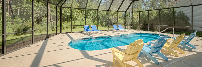 myrtle beach pool enclosure