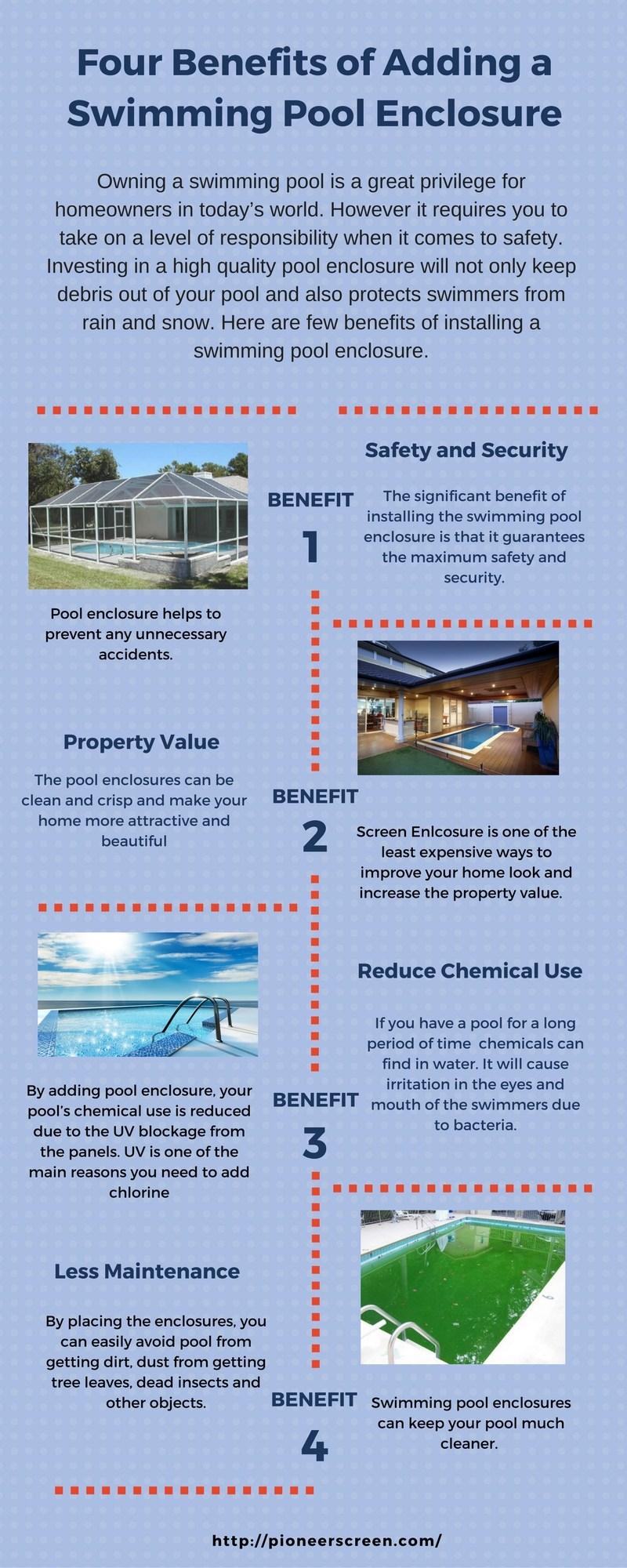 benefits of a pool enclosure