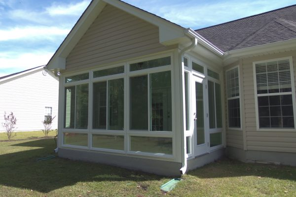 Carolina Home Exteriors Gable Roof Glass Myrtle beach Sun room