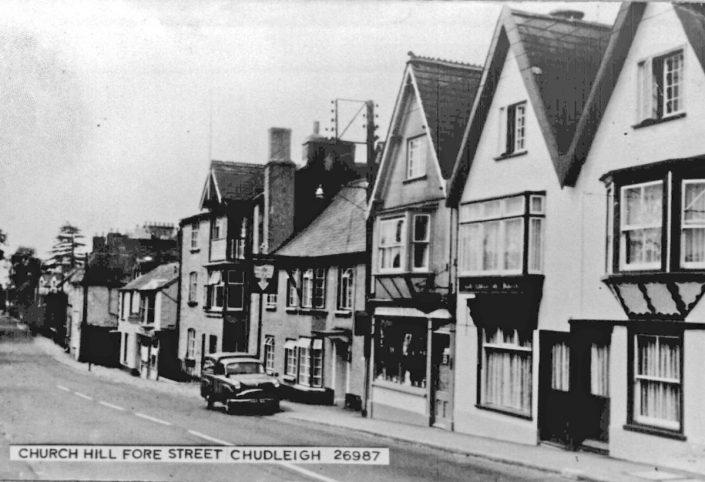 Fore Street with S. Cornish delivery van