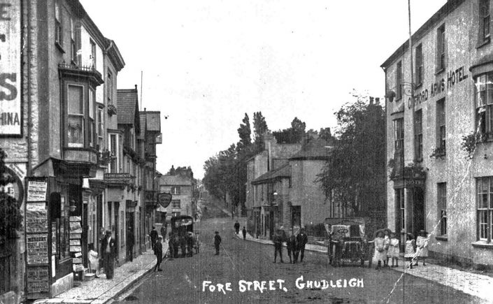 Fore Street & Clifford Arms, Chudleigh
