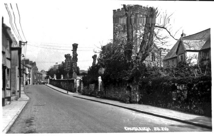 Church & Fore Street, Chudleigh (1949)
