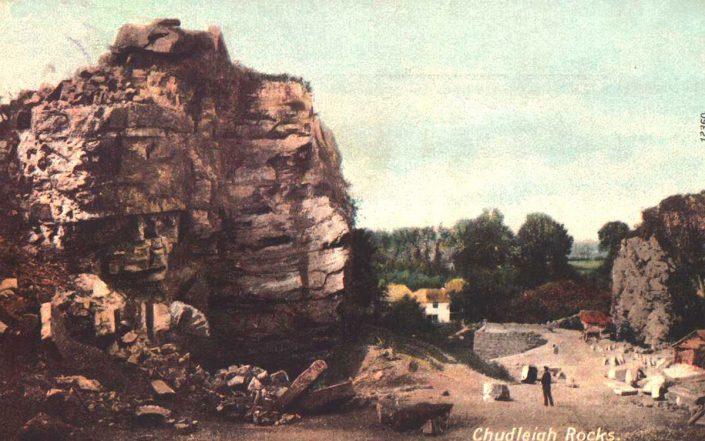 1905, Chudleigh Rocks, Devon
