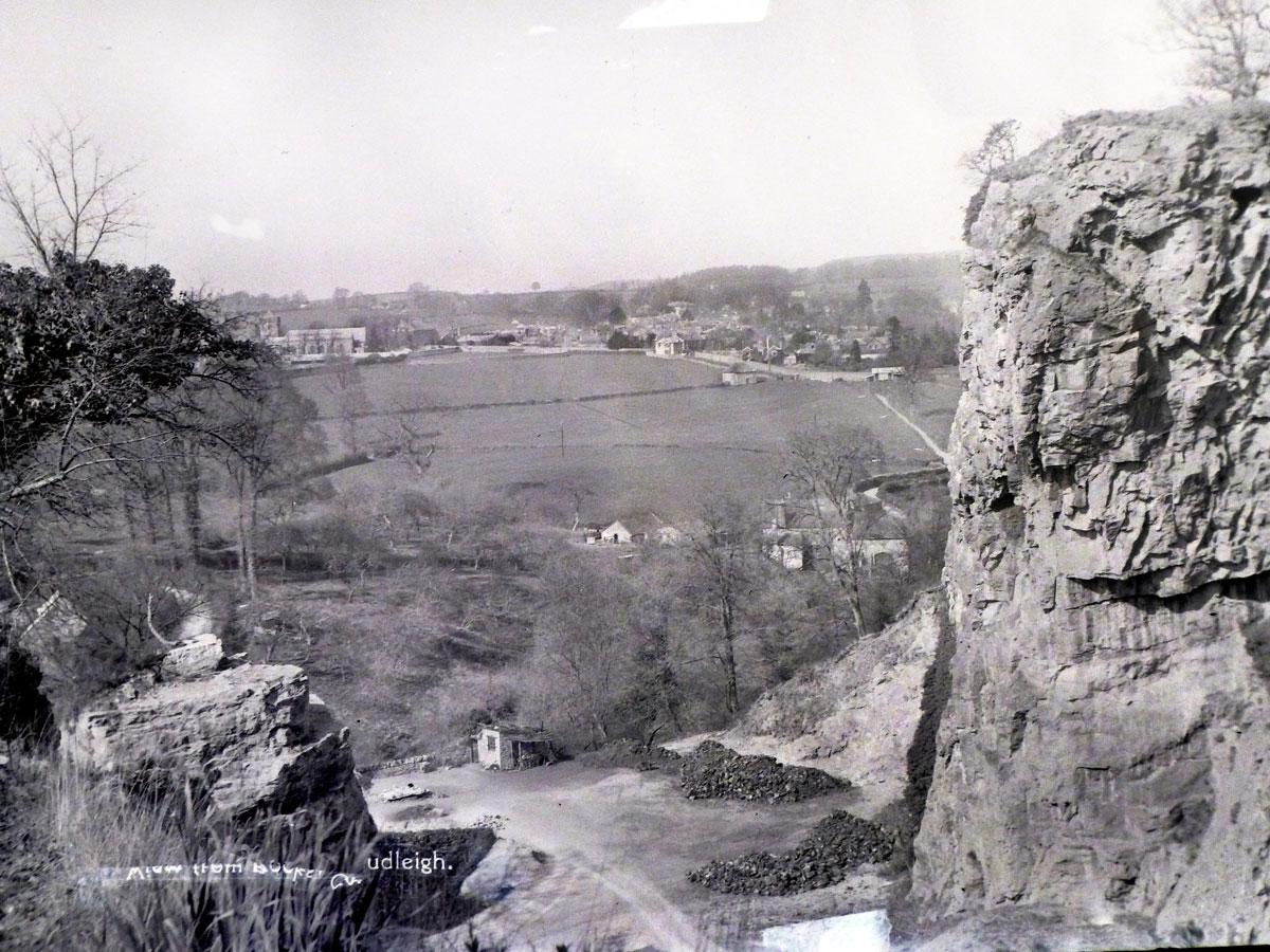 View from Chudleigh Rocks, Devon