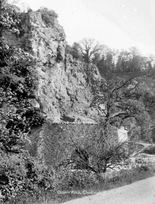 Quarry Rock, Chudleigh Rocks, Devon
