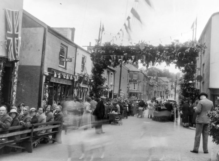 1935 - King George V Silver Jubilee, Old Exeter Street