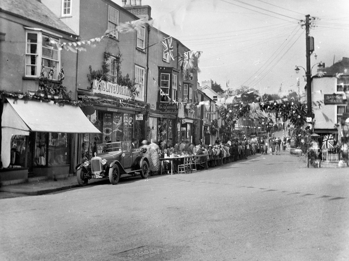 1935 - King George V Silver Jubilee, The Square