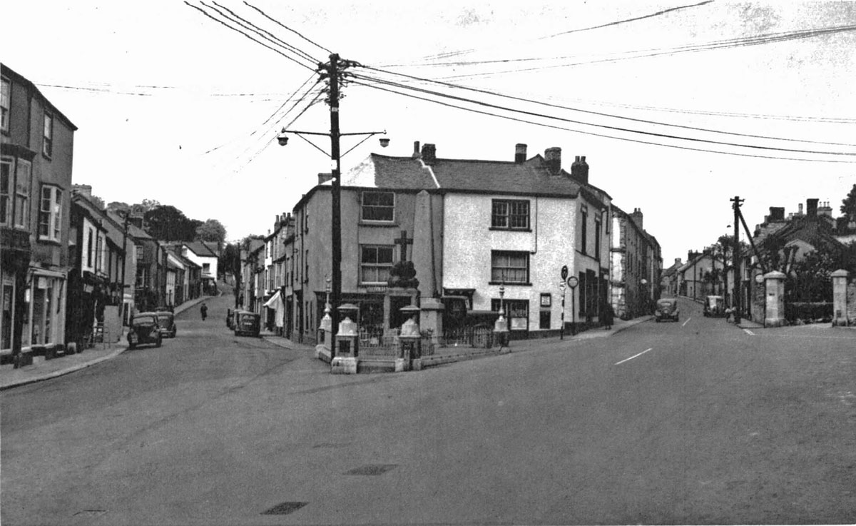 The Square, Old Exeter Street & New Exeter Street