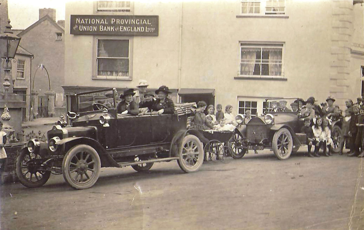 1919, The Square, Chudleigh