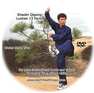 taichihealthways | Shaolin Qigong Luohan 13 Forms
