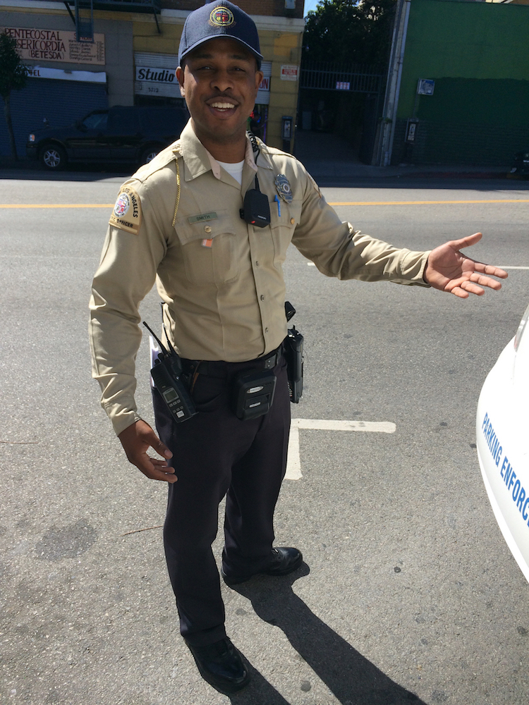 Meet Traffic Officer Andre Smith