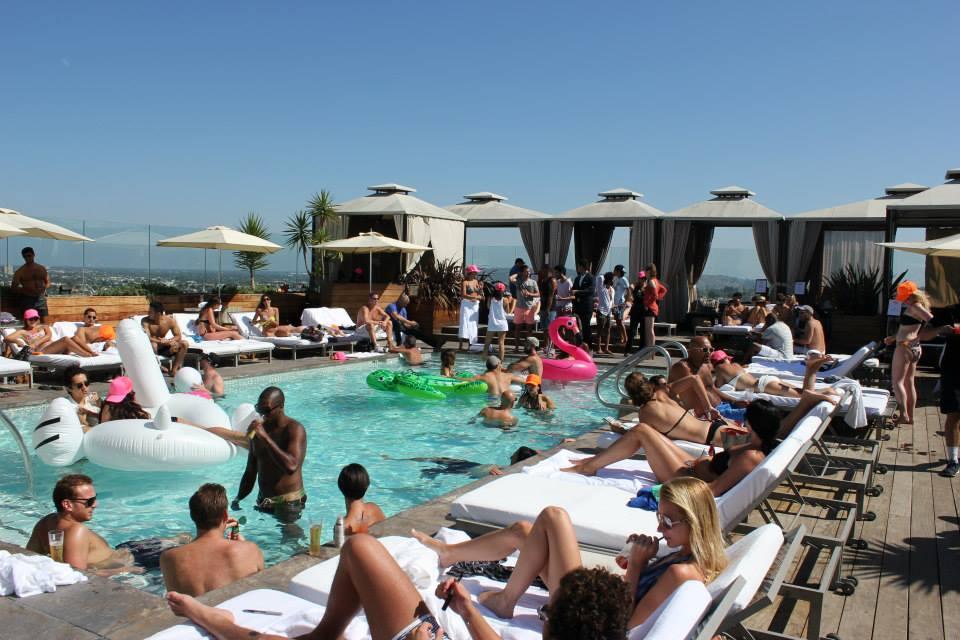 7 Best Hotel Pools In Los Angeles