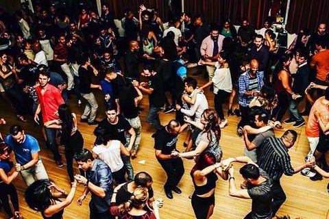 Salsa dancing marina del rey