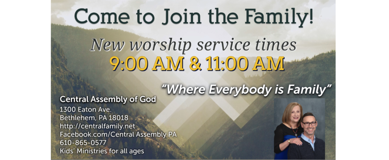 Central Assembly of God | Hello