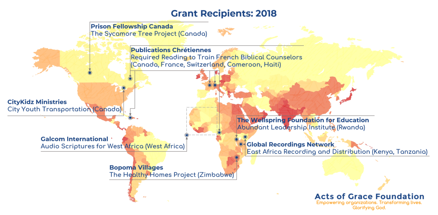 Acts of Grace Foundation | 2018 Grants