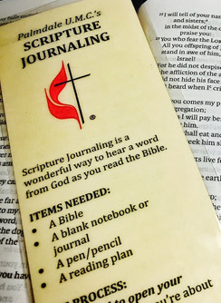 Palmdale UMC | Scripture Journaling