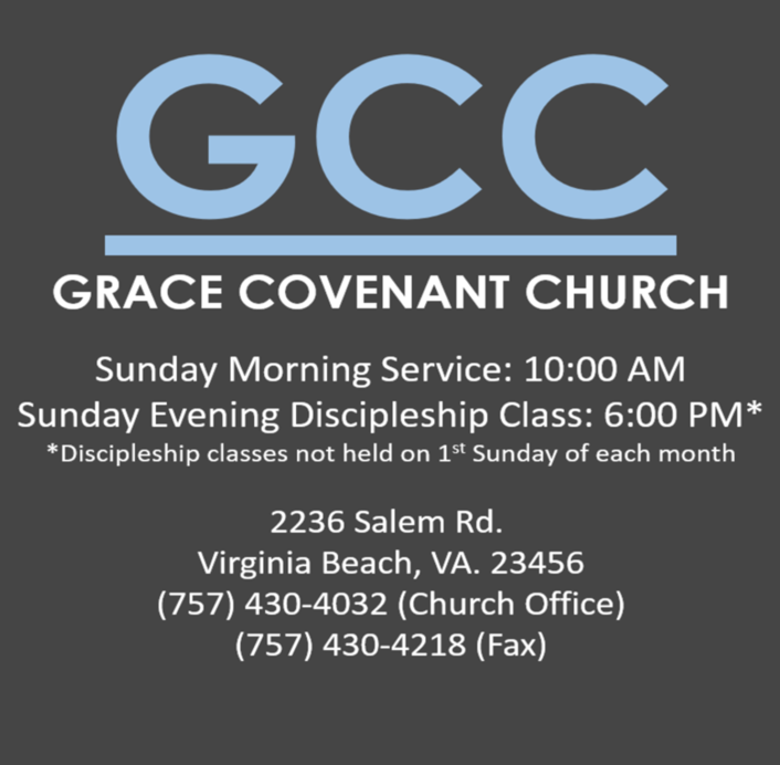 Grace Covenant Church | Welcome