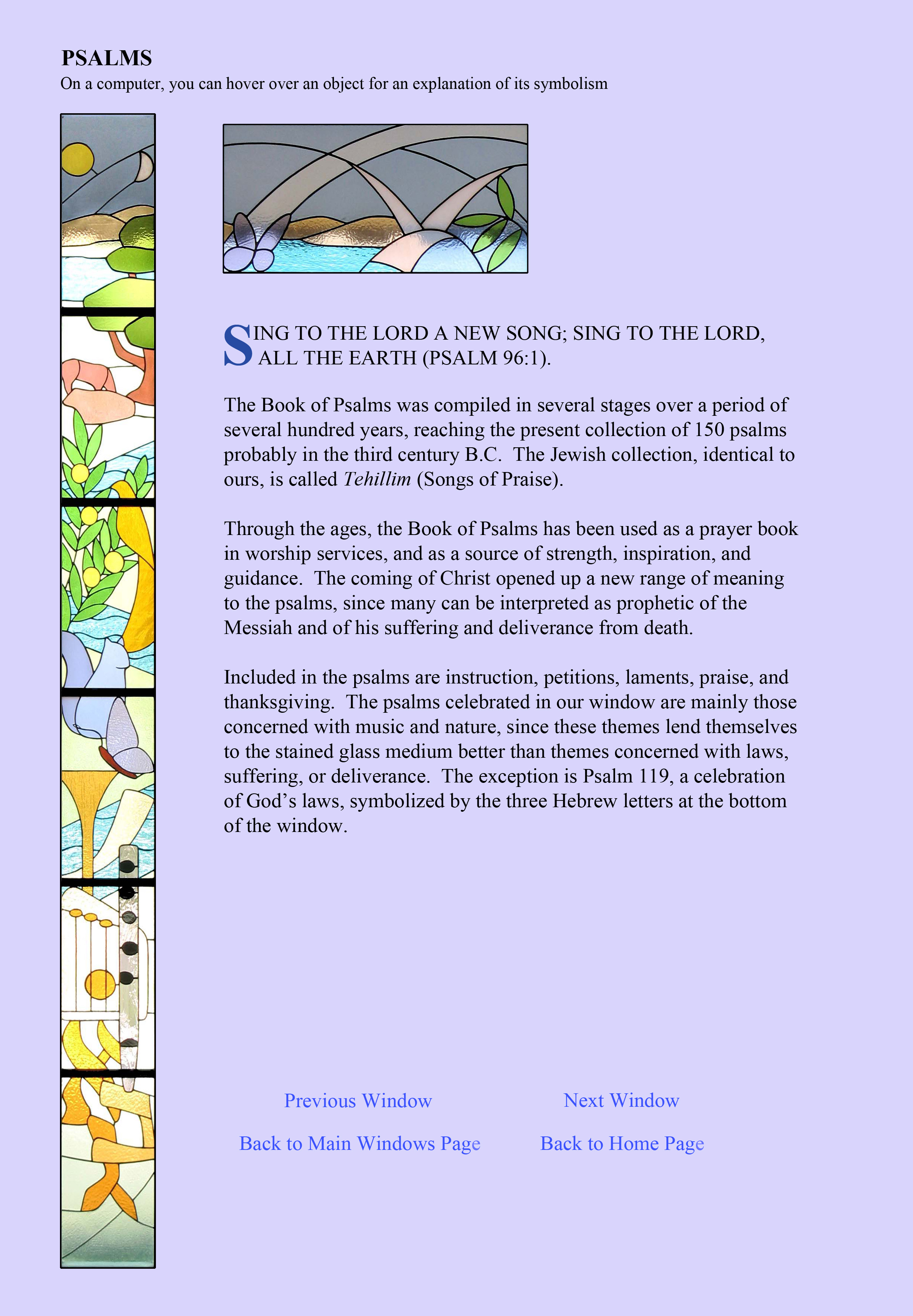 St  Luke Lutheran Church | Test Stained Glass