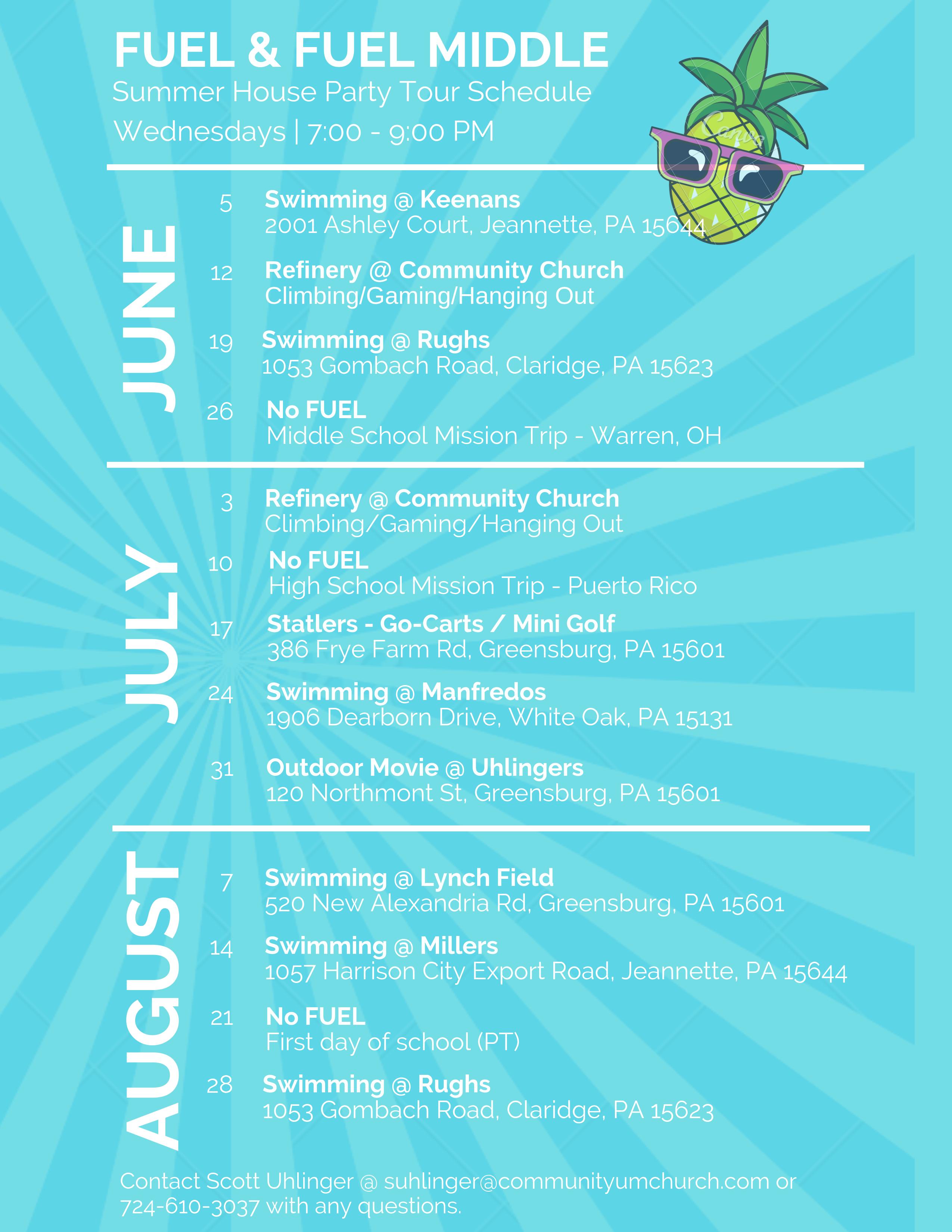 Community Church Harrison City | Care Cards