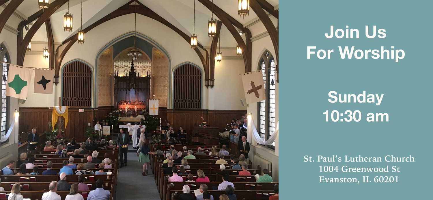 St Paul S Lutheran Church Welcome