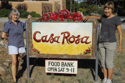 Las Placitas Presbyterian Church | Casa Rosa Food Pantry