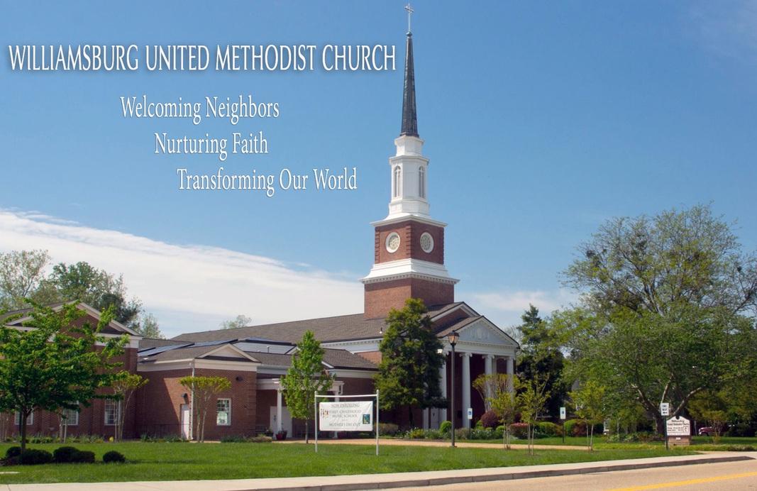 williamsburg united methodist church welcome